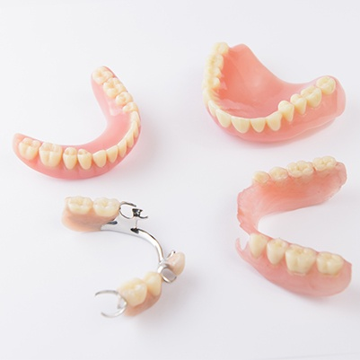 Partial and full dentures